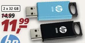 Bild von HP V212W Twinpack USB-Sticks bei Real 18.1.2021 – KW 3