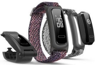Bild von Huawei Band 4e Fitness-Tracker bei Real 25.1.2021 – KW 4