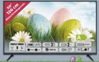 JTC 50U5008M 50-Zoll Ultra-HD Fernseher