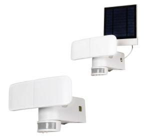 LightZone Solar Batterie Außenstrahler