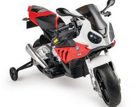 Bild von Hofer: BMW S1000RR Kinder-Elektro-Motorrad als Lieferangebot 8.3.2021 – KW 10