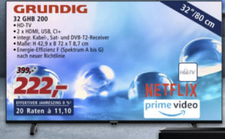 Grundig 32 GHB 200 Fernseher