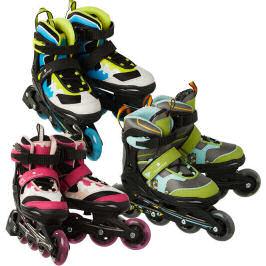 Newcential Inline-Skates mit LED-Rollen