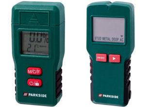 Bild von Lidl 11.3.2021: Parkside PMSHM 2 A1 Multi-Sensor und Holzfeuchtemessgerät im Angebot