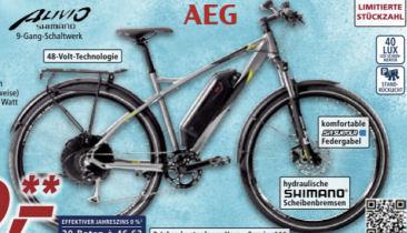 Prophete Graveler EHM 200 Elektro-Mountainbike