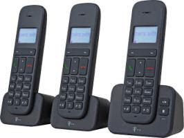 Telekom Sinus CA 37 Trio Schnurlos-Telefon-Set