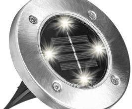Disk Lights LED-Solarleuchten