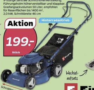 Einhell BG-BRM 46 S Benzin-Rasenmäher