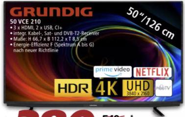 Grundig 50 VCE 210 Fernseher