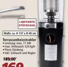 Sunred Terrassenheizstrahler