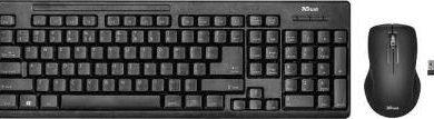 Trust Ziva Tastatur-Maus-Set
