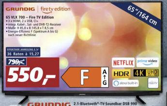 Grundig 65 VLX 700 Fire TV Edition Fernseher