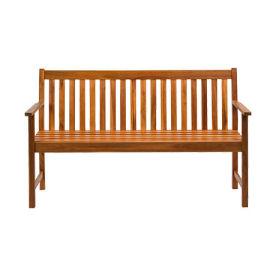 Holzbank 3-Sitzer