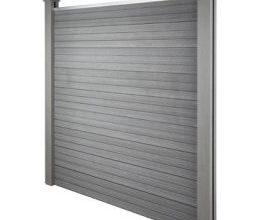 Home Deluxe WPC-Sichtschutzzaun-Set