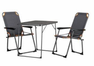 Portal Campingmöbel Set 3-teilig
