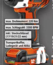 Schlagschrauber-Set IW200