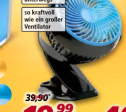 Livington Go Fan Mini-Tischventilator