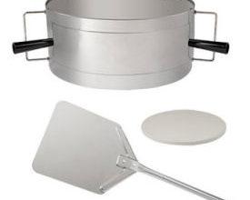 Meateor Pizzaring-Set für Kugelgrills
