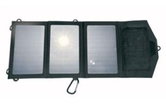 Silvercrest Faltbares Solarladegerät