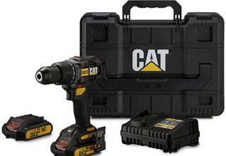 CAT Akku-Schlagbohrschrauber-Set DX12