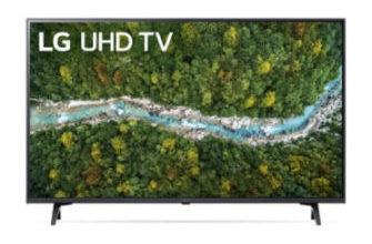 LG 43UP77009LB 43-Zoll Ultra-HD Fernseher