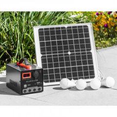 Mauk Solar-Panel 15 Watt mit Powerpack