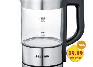 Severin WK3499 Mini-Glaswasserkocher