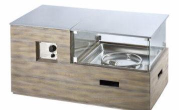 Clifton Gas-Kamin-Tisch Compact Lounge