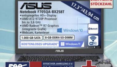 Asus F705QA-BX258T Notebook