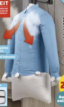 CleanMaxx Hemden-Blusenbügler Kompakt 04466
