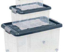 Easy Home Stapelboxen 3er-Set