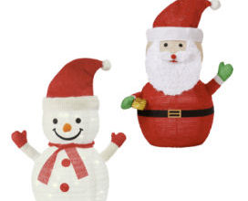 LightZone Mini-Weihnachtsfigur