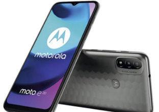 Motorola Moto E20 Smartphone