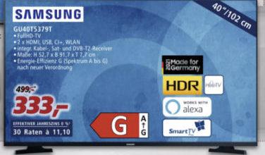 Samsung GU40T5379 40-Zoll Fernseher